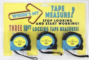 Where's My Tape Measure?