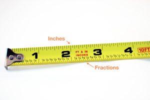 tape measure close up